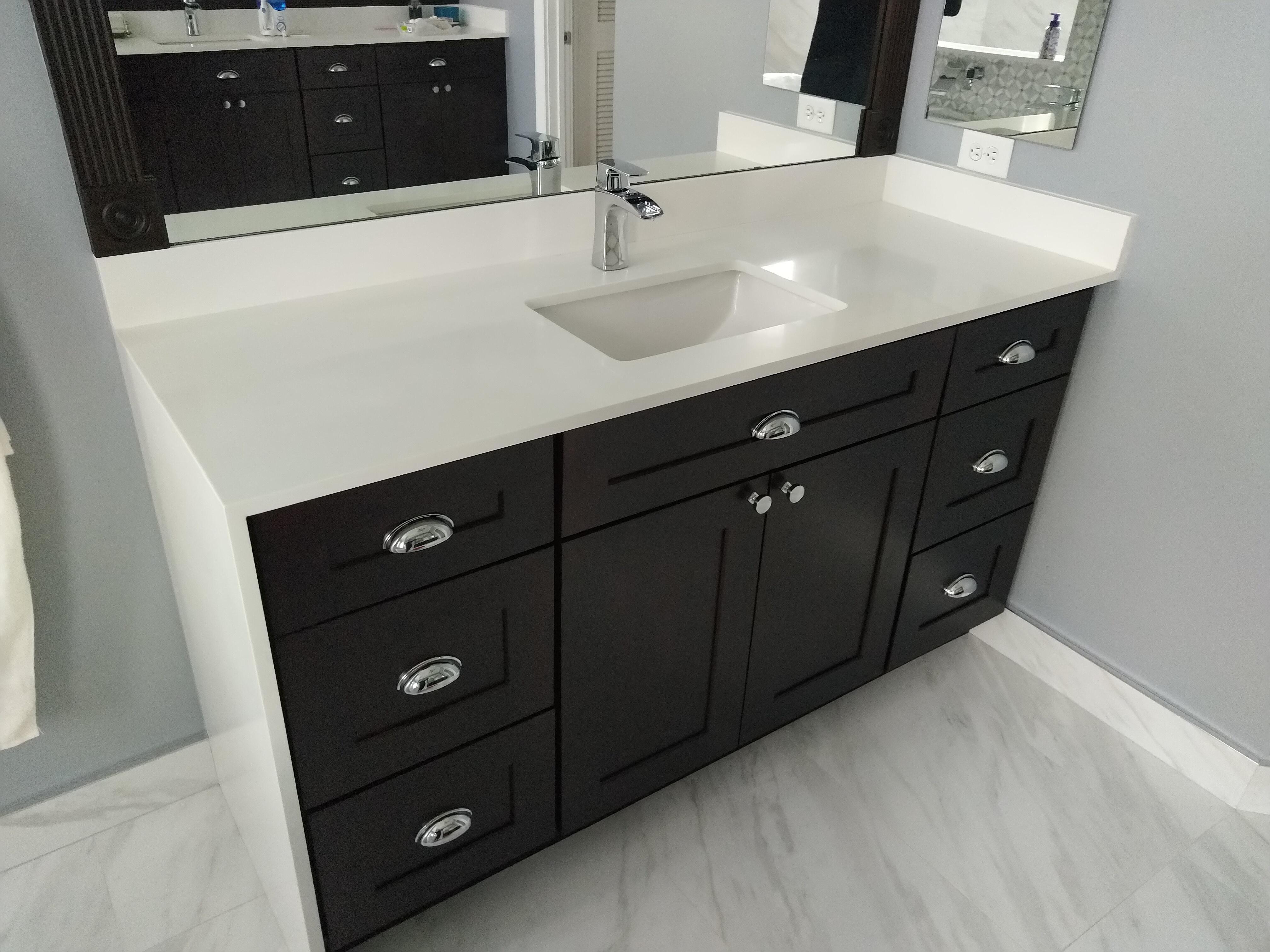 Bathroom Vanity Remodel, Ft. Lauderdale, 12/2019 - RTA ...